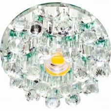Светильник точечный светодиодный Feron 1550 10W 230V/50Hz 600 Lm прозрачный, прозрачный 27817