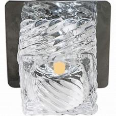 Светильник точечный светодиодный Feron BS 125-FB 10W 230V/50Hz 600 Lm прозрачный, хром 27821