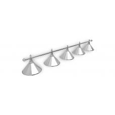 Светильник для бильярдного стола Prestige Silver 5 плафона