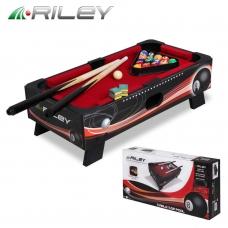 Бильярдный стол Riley пул 1,5фт с комплектом аксессуаров 46x23x14см 6464
