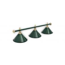 Светильник для бильярдного стола Allgreen 3 плафона