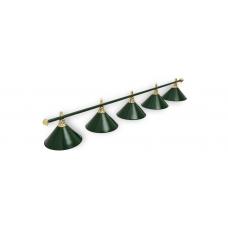 Светильник для бильярдного стола Allgreen 4 плафона