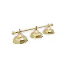 Светильник для бильярдного стола Crown Golden 3 плафона