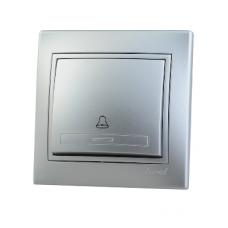 Кнопка звонка Lezard Mira алюминий 701-1010-103