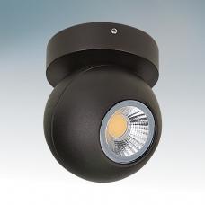 Светильник светодиодный Lightstar GLOBO LED 8W 4200K IP54 BLACK 051007