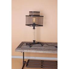 Настольная лампа в стиле Лофт LOFT HOUSE T-98 черный