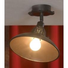 Светильник спот Lussole LSN-1077-01 Ancona, 1 плафон, медь с кофе