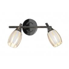 Светильник спот Lussole LSX-6701-02 Brindisi, 2 плафона, хром