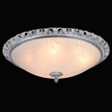Светильник Natali Kovaltseva Gisele 10435/5С WHITE SILVER GOLD 5*E14 40W белый/серебро/золото