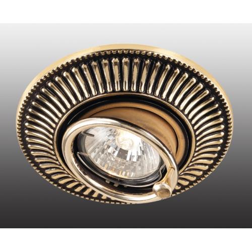 Встраиваемый светильник Novotech Vintage 369860