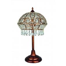 Настольная лампа Оmnilux OML-71314-02 Бронза, серебро
