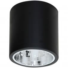 Накладной точечный светильник Luminex DOWNLIGHT ROUND 7243 чёрный