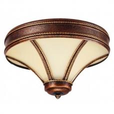 Светильник потолочный Kemar TANAJA Brown T/D/P коричневый с патиной