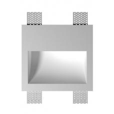 Светильник для подсветки гипсовый стеновой Декоратор ST-004 белый