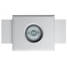 Светильник гипсовый встраиваемый (врезной) Декоратор VS-014 белый