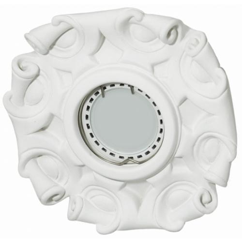 Светильник гипсовый Roden Light RD-008 WH белый