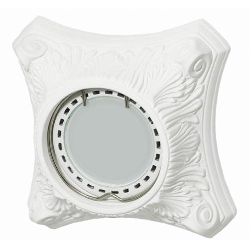 Светильник гипсовый Roden Light RD-009 WH белый