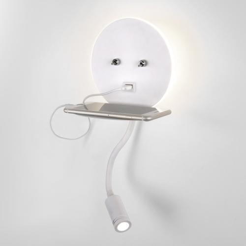 Lungo LED белый Настенный светильник MRL LED 1017