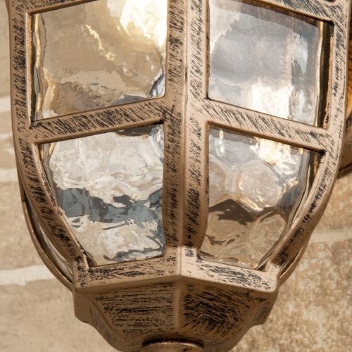 Dorado D черное золото уличный настенный светильник GL 1013D