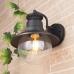 Talli D черный уличный настенный светильник GL 3002D