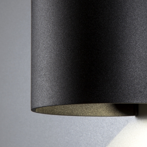 Blade черный уличный настенный светодиодный светильник 1518 TECHNO LED