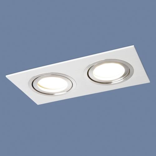 Точечный светильник с белой шлифованной поверхностью 1051/2 WH белый