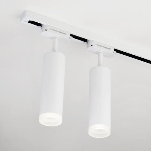 Трековый светодиодный светильник для однофазного шинопровода Oskar Белый 10W 4200K LTB28