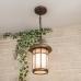 Lepus H кофейное золото уличный подвесной светильник IP33 GL 1016H