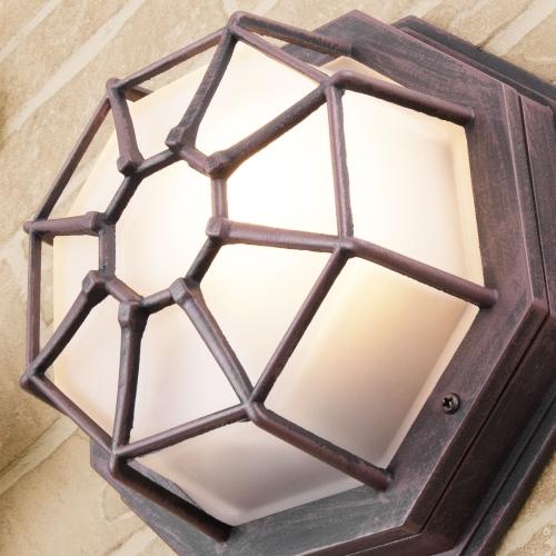 Telarana S капучино уличный настенный светильник GL 1023D