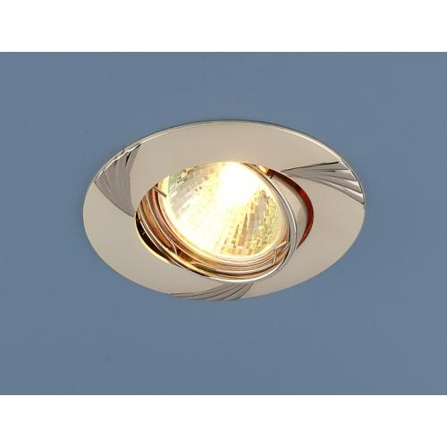 Точечный светильник 8004 MR16 PS/N перл.серебро/никель