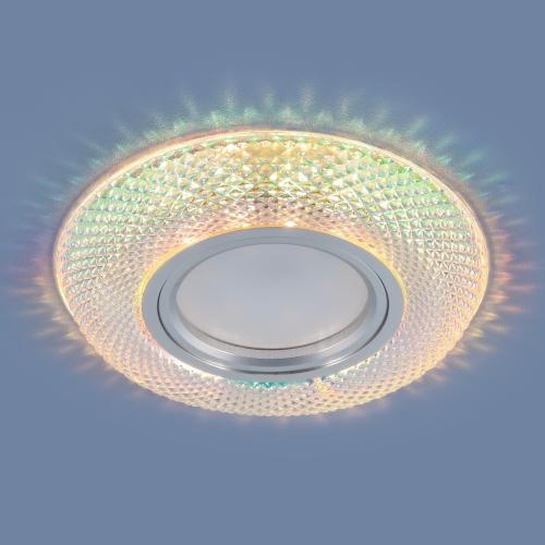 Встраиваемый точечный светильник со светодиодной подсветкой 2237 MR16 MLT мульти
