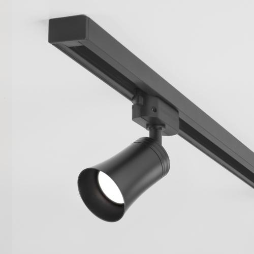 Трековый светильник для однофазного шинопровода Vetro GU10 Черный MRL 1001