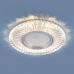 Встраиваемый точечный светильник со светодиодной подсветкой 2239 MR16 CL прозрачный
