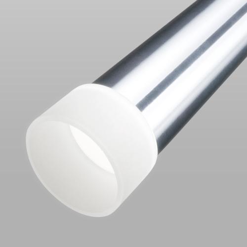 Подвесной светодиодный светильник DLR038 7+1W 4200K хром