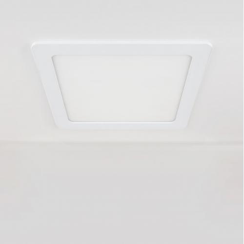 Встраиваемый потолочный светодиодный светильник DLS003 24W 4200K