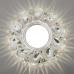 Встраиваемый точечный светильник с LED подсветкой 2219 MR16 CL прозрачный