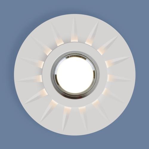 Встраиваемый точечный светильник с LED подсветкой 2243 MR16