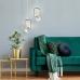 Подвесной светодиодный светильник 50165/1 LED золото/белый
