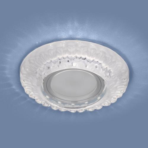 Встраиваемый точечный светильник с LED подсветкой 7247 MR16 CL прозрачный