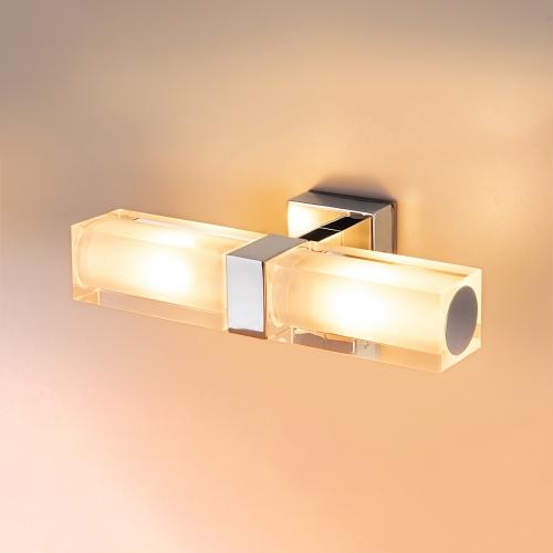 Duplex 2x28W хром Влагостойкий настенный светильник 1228 AL14