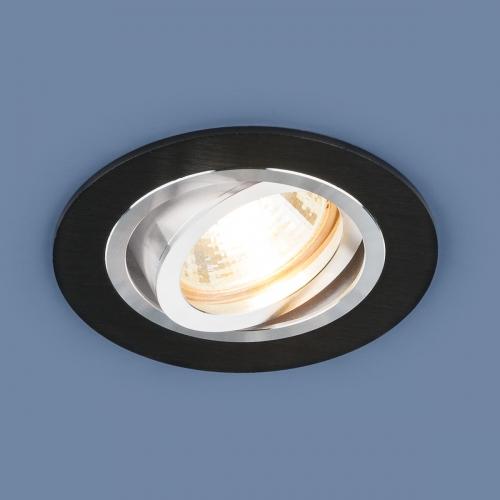 Алюминиевый точечный светильник 1061/1 MR16 BK черный