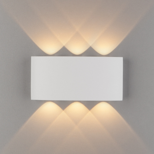 Twinky trio белый уличный настенный светодиодный светильник 1551 TECHNO LED