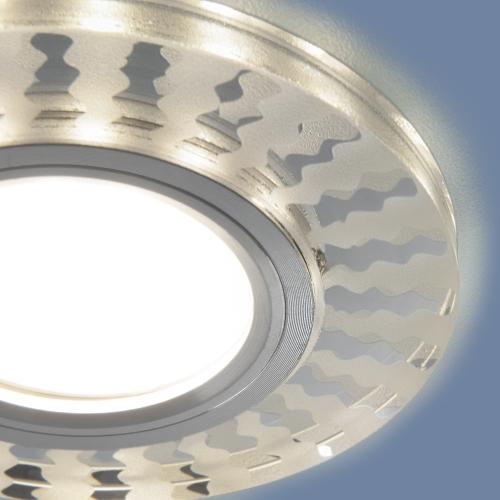 Встраиваемый точечный светильник с LED подсветкой 2248 MR16