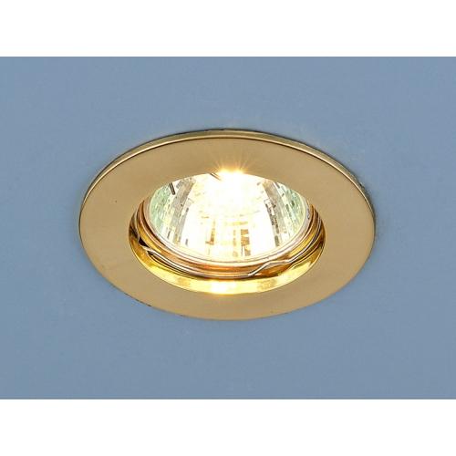Точечный светильник 863 MR16 GD золото