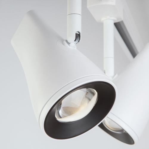 Трековый светодиодный светильник для однофазного шинопровода Hardi Белый 9W 4200K LTB18
