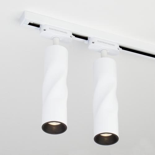 Трековый светодиодный светильник для однофазного шинопровода Royal Белый 12W 4200K LTB29