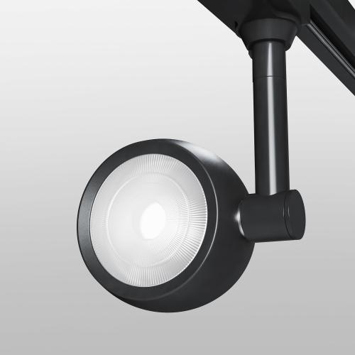 Трековый светодиодный светильник для однофазного шинопровода Oriol черный 12 Вт 4200K LTB48