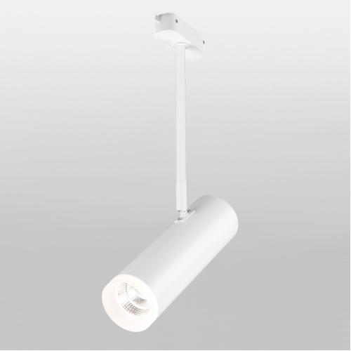 Трековый светодиодный светильник для однофазного шинопровода Oliver белый 9W 4200K LTB45