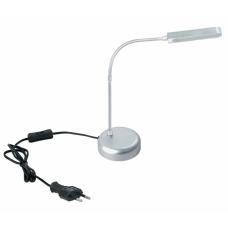 Настольная лампа Светкомплект KT 601 алюминий (холодный белый)