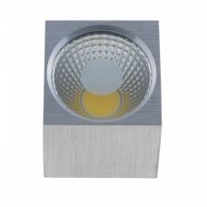 Светильник Светкомплект ST-1080 COB SQ 5W AL 4100K 5W алюминий 60*60*65 мм накладной